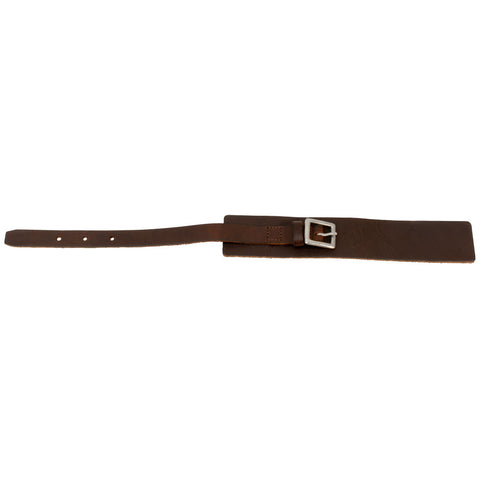 Distressed Brown Vintage ITALIAN Leather Bracelet Unisex 4BR