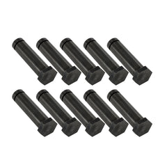 "Set of Ten 1 1/4"" Hex Top Black Oxide 5/16"" Steel Tattoo Machine Coil Cores"