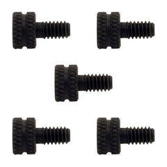 Lot 5 Black Oxide Thumb Screw 8-32 Tattoo Machine Binder Set For Contact Parts