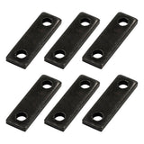 "Lot of 6 Black Oxide Iron 1/8"" Square Yoke for Tattoo Machine Coils Parts"