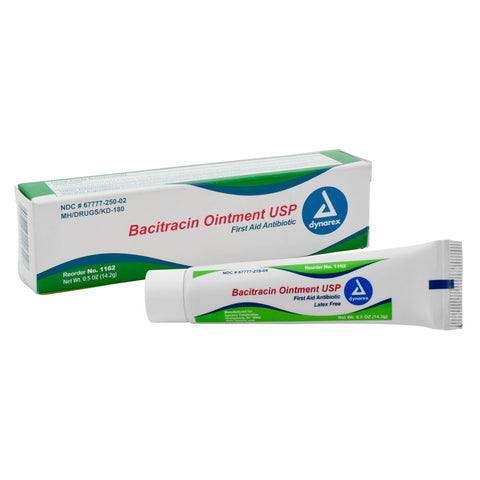 Bacitracin Ointment - .5oz Tube - Piercing Pros