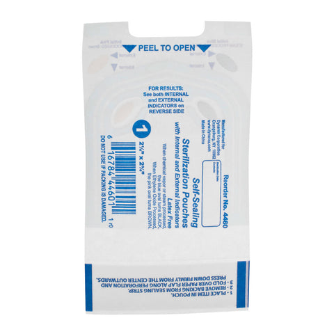 200 Piercing Self-Sealing Sterilization Pouches - Piercing Pros