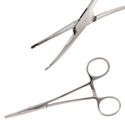 NEW Micro Dermal Anchor Piercing Hemostat Forcep TOOL