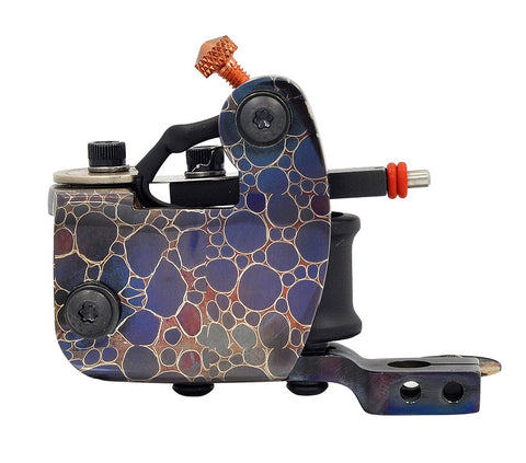 Baltimore Street Irons Handmade Snakeskin Damascus Chub Liner Tattoo Machine