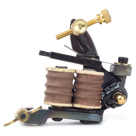PROFESSIONAL Cast Iron 8w Tattoo Machine LINER DV8-4