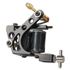 * NEW Black Cast Iron Shader Custom Tattoo Machine H13 - Piercing Pros