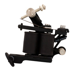 Black Silicone Stainless Finish Shader Tattoo Machine