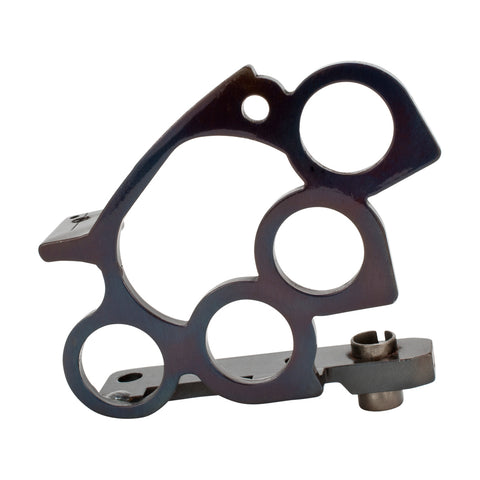 Blued Steel Custom Tattoo Machine Frame Brass Knuckles Liner Build Part Handmade - Piercing Pros