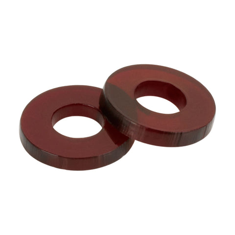 "Painful Irons Plastic Replacement Coil Washers for 5/16"" Core Pack of 20"