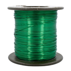 GREEN 24 Gauge AWG Enameled Magnet Copper Wire Tattoo Coils Winding 800 FT 1lb
