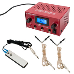 Digital Tattoo Machine Power Supply - Piercing Pros