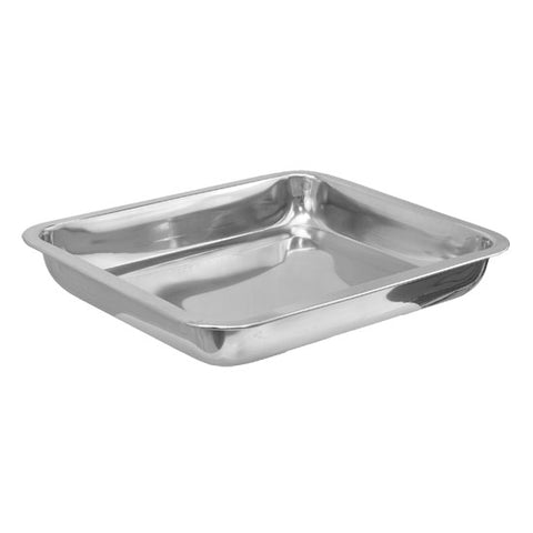 "12.5"" x 10.5"" DEEP Stainless Steel Tray Tattoo Piercing Instrume - Piercing Pros"
