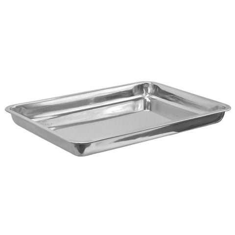 "19.56"" x 13.56"" DEEP Stainless Steel Tray Tattoo Piercing Instrument - Piercing Pros"