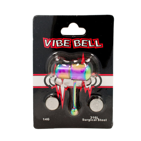 Steel Vib-Bell Powerful Vibrating Tongue Barbell
