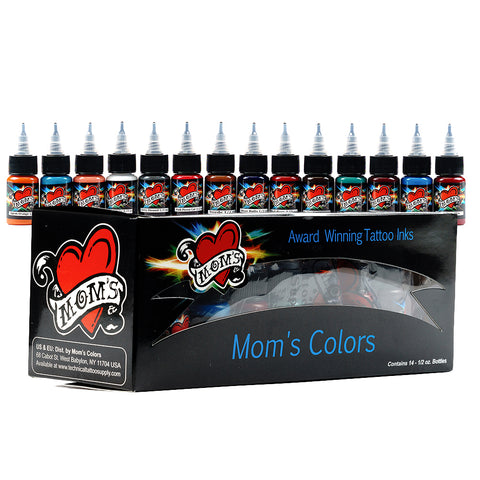 Millennium Moms PRIMARY #2 Tattoo Ink Set of 14 - Pick Your Size