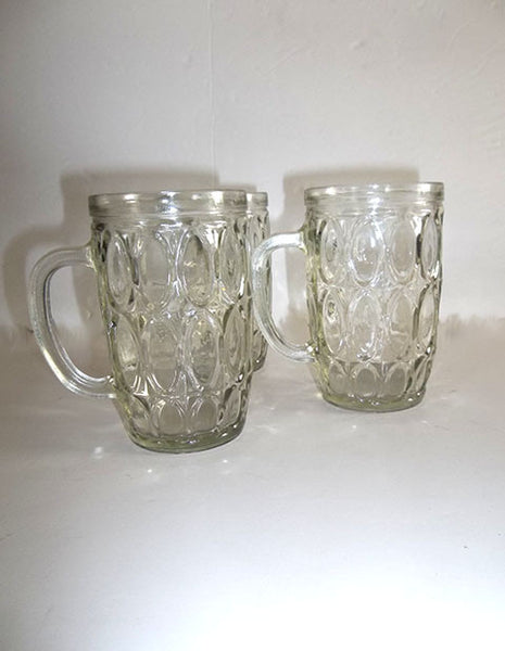 Oval Patterned Mugs  S/3 - The Other Alley
