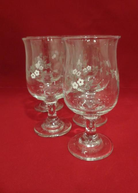 "Pfaltzgraff ""Heirloom Goblets  S/6 - The Other Alley"