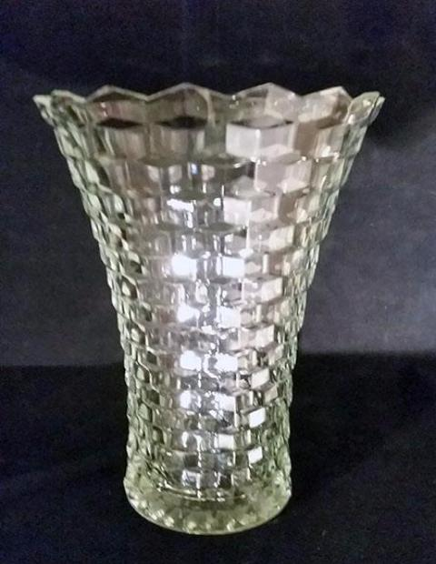 Indiana Glass Cubist Vase - The Other Alley