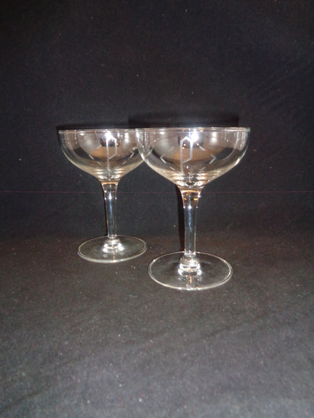 "Coupes With Etched ""P""  S/2"