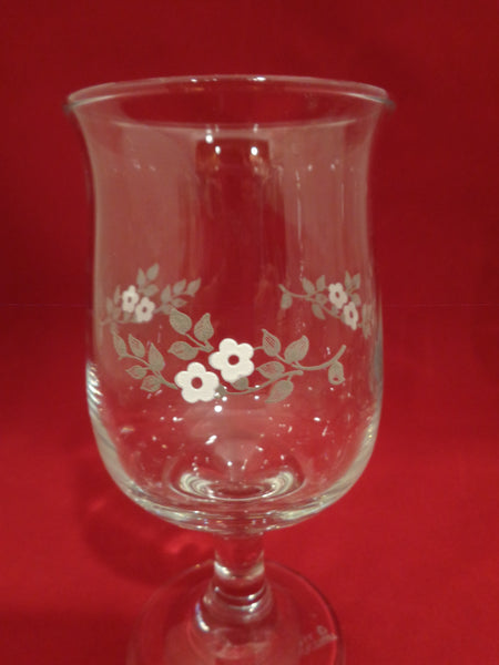 "Pfaltzgraff ""Heirloom Goblets  S/6"