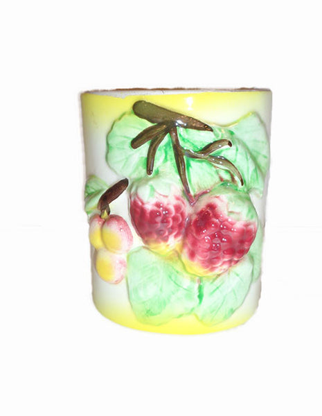 Grapes And Leaves Wall Pocket Vase - The Other Alley