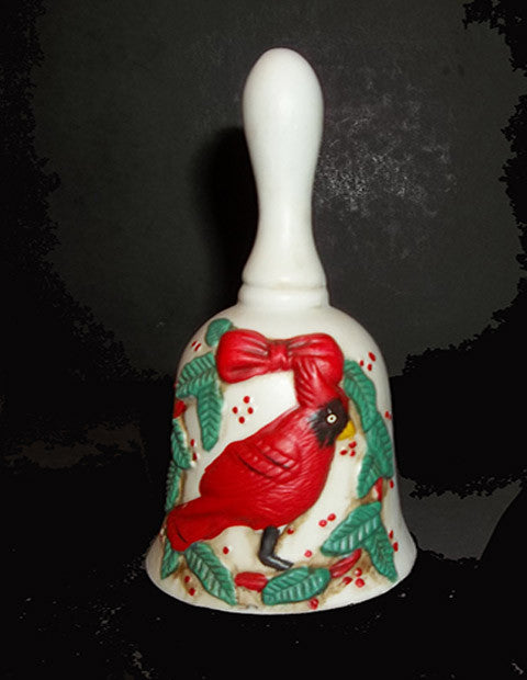 Cardinal Christmas Bell - The Other Alley