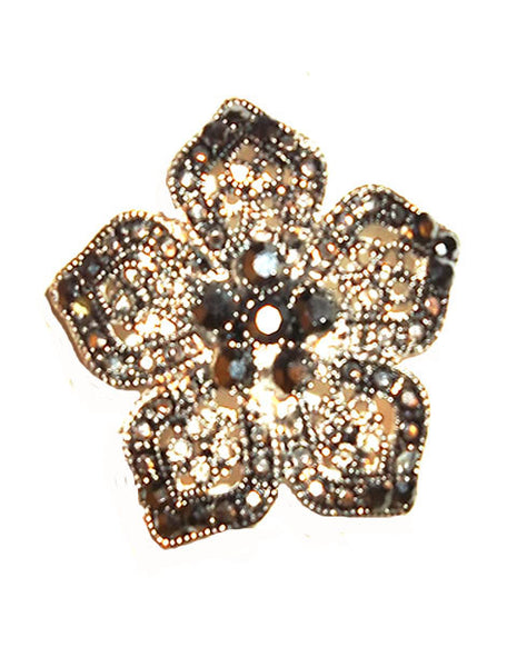 Beautiful Silvertone Brooch