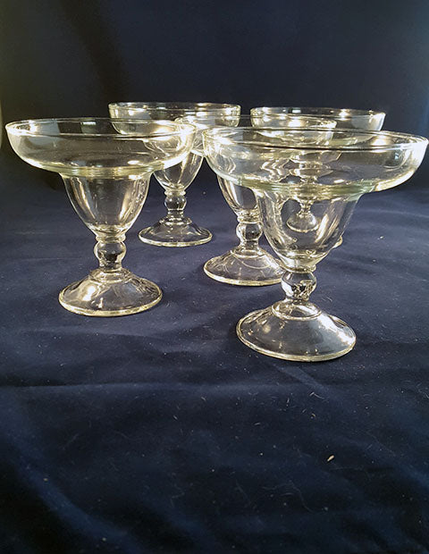 Short Ball Stem Margarita Glasses  S/3 - The Other Alley