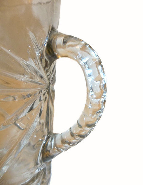 Pressed Glass Pitcher - The Other Alley