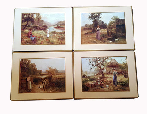 French Scene Placemats