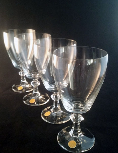 Crystal Water/Iced Tea Stemware Made in West Germany  S/4 - The Other Alley