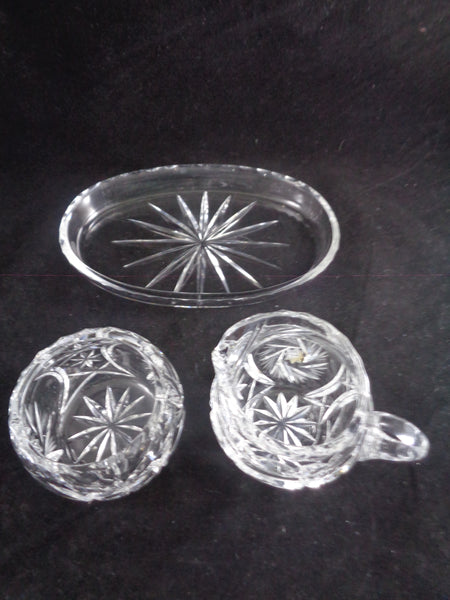 Creamer And Sugar Bowl Set On Tray - The Other Alley