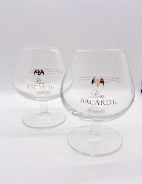 Bicardi Snifter Glasses  S/2 - The Other Alley