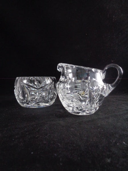 Creamer And Sugar Bowl Set On Tray