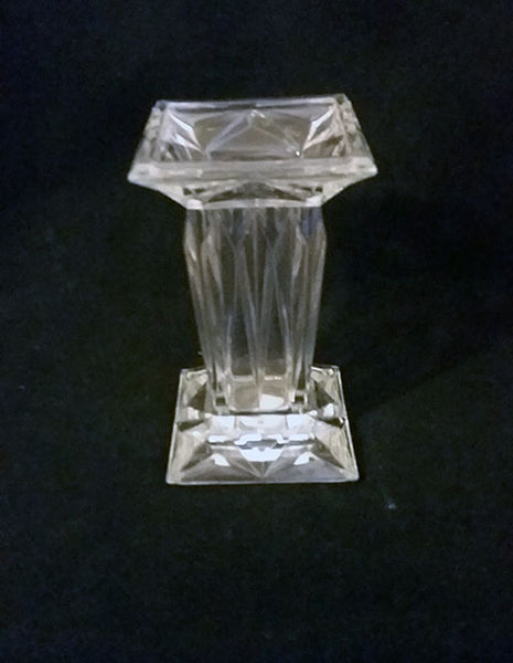 Gorham Lead Crystal Column Vase - The Other Alley