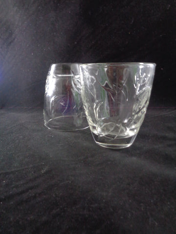 Pressed Leaf Rocks Glasses   S/4 - The Other Alley