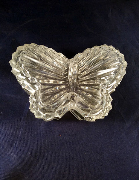 Butterfly Glass Trinket Jar - The Other Alley
