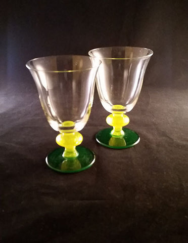 2 Very Summer Table Goblets - The Other Alley