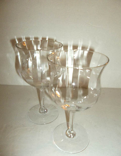 Optic Tulip Stemware S/2 - The Other Alley