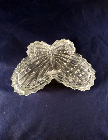 Butterfly Glass Trinket Jar