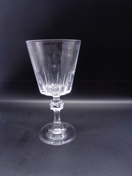 Crystal Stemware With Faceted Ball Stem - The Other Alley