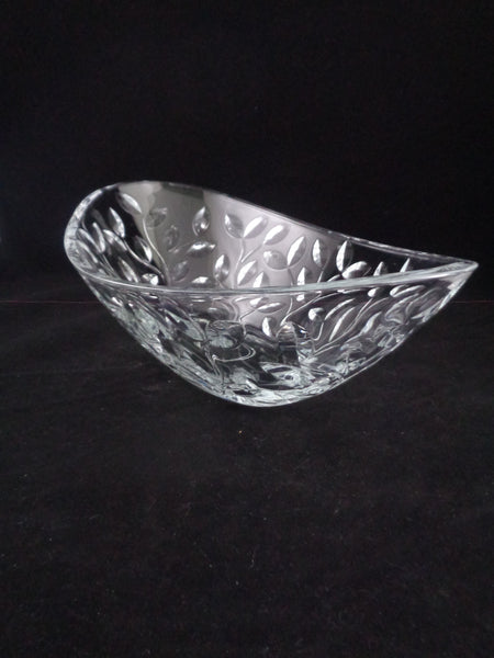 Oval Glass Serving Bowl - The Other Alley