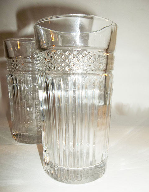 Libbey Glass Rock Sharp Pressed Tumblers S/2 - The Other Alley