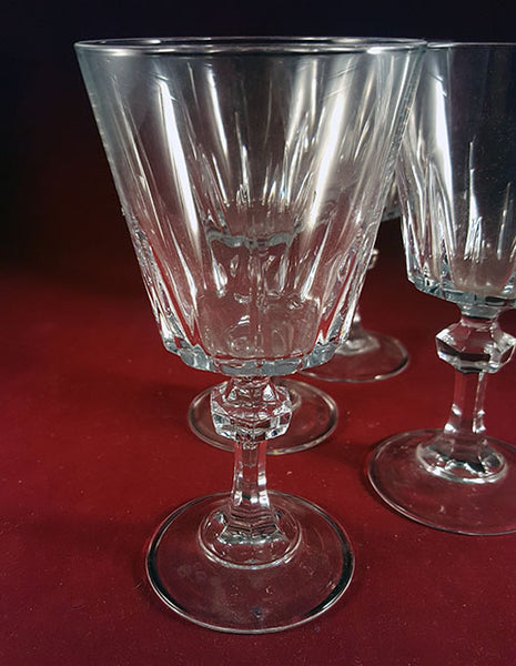 Set of 4 Crystal  Glasses/Goblets  S/4 - The Other Alley