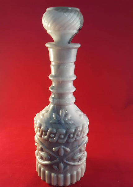 Vintage Hobnail Jim Beam Decanter with Stopper - The Other Alley