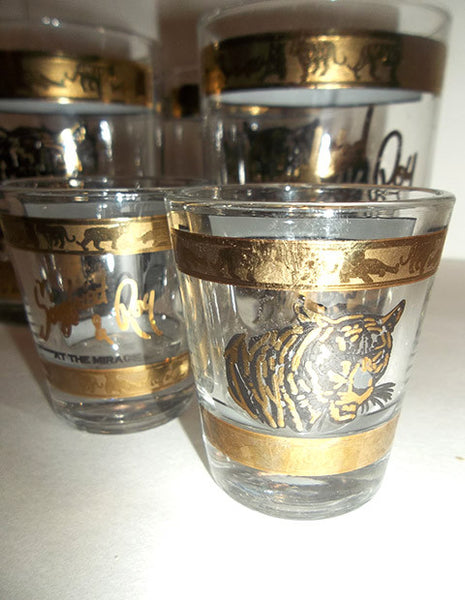 Sigfried & Roy Mirage Glasses...YARD SALE - The Other Alley