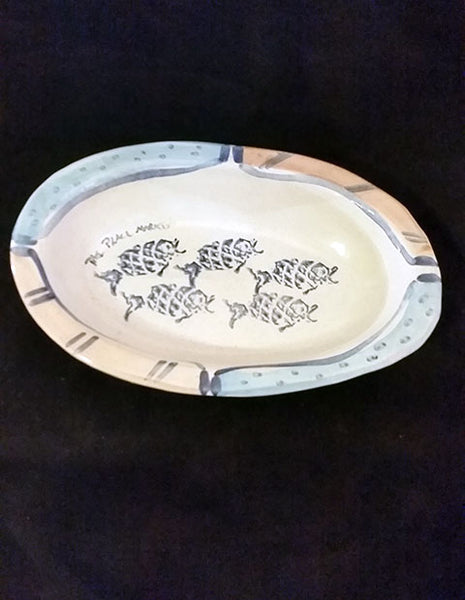 Pike Place Market Hand Painted Platter - The Other Alley