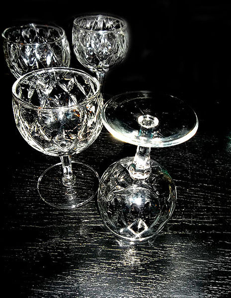 Anchor Hocking Crown Point Glasses - The Other Alley