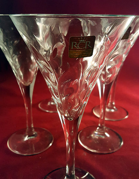 RCR Laurus Champagne Flutes - The Other Alley