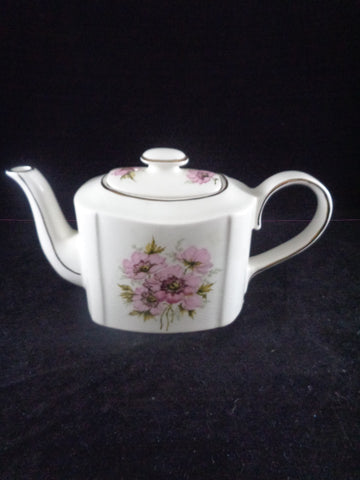 Arthur Wood Tea Pot Pink Flowers